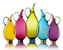 Vetro Vero Bright Pitchers Hand blown glass